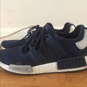 80aaad99164c adidas Shoes - Sz10 ADIDAS NMD RUNN R1 COLLEGIATE NAVY BLUE WHITE